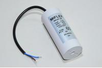 Miflex MKSP-5P I150V660K-C1 60µF/500VAC 50x119mm moottorin käyntikondensaattori 250mm johdoilla *uusi*