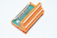 RS Components 403-336 IDC liityntämoduuli jossa 50x ruuviriviliitintä ja 50pin nauhakaapeliliitin *uusi*