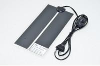 7W 5,65kΩ 230V 30-35°C lämpömatto tehonsäätimellä 150x280mm, Europlugi CEE 7/16, 1.4m kaapeli *uusi*