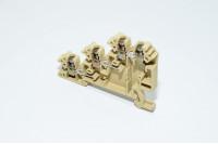 Weidmüller DLI 2.5 DB 1783820000 2.5mm² 250V 24A tumma beige W-sarja kolmikerrosläpimenoriviliitin ruuvikiinnityksellä