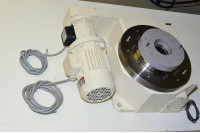 Weiss TC320--10 TC sarjan indeksointipöytä jarruyksiköllä, malli 1