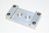 Alumiininen asennuskiinnike 50x95x20mm SMC MY1M25 sarjan mekaanisesti liitettyihin männänänvarrettomiin sylintereihin