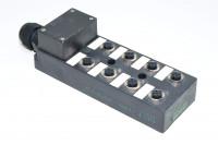 Murrelektronik 27772 passiivinen jakolaatikko jossa 8x M12 I/O (8-tie)