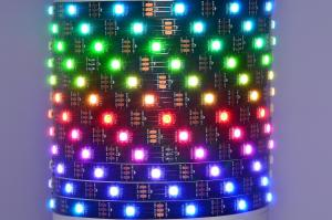 Worldsemi HC-F5V-30L-30LED-B-IP20 WS2812B 5VDC 45W 30LED/m IP20 flexible digital LED strip, 5m reel *new*