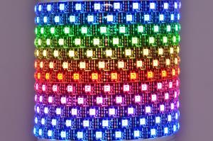 Worldsemi HC-F5V-60L-60LED-B-IP65 WS2812B 5VDC 90W 60LED/m IP65 flexible digital LED strip, 5m reel *new*
