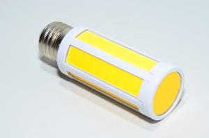 E27 200-240VAC 12W 2000lm 360° 3000-3300K warm white COB LED corn cob lamp *new*