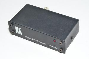 Kramer VM-3C S-video DA/Converter videosplitteri 1x S-video sisään 2x S-video ja 1x komposiittivideo ulos
